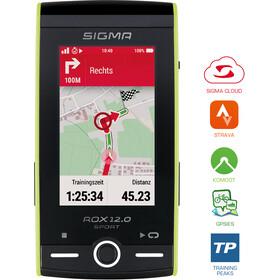 SIGMA SPORT ROX GPS 12.0 Sport Gehäuse grün
